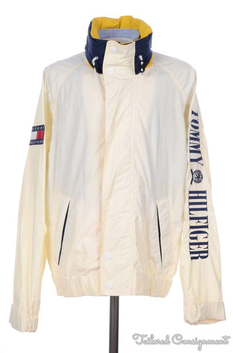 Vintage Tommy Hilfiger White Jacket gyHgTqQ