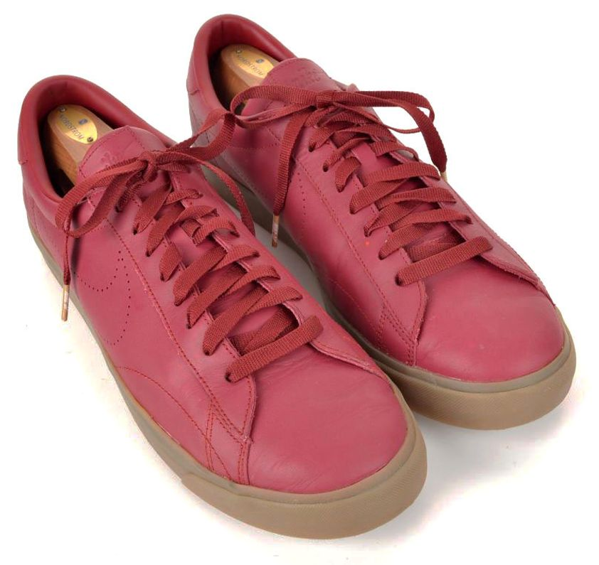 Nike Solid Ac Leather Classic Sp Tennis Nikelab Mens Maroon Ybfg6vI7y