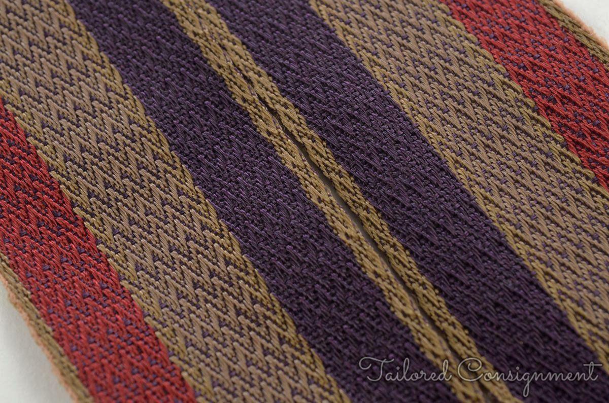 TRAFALGAR Blue Red Woen Striped Mens Braces Suspenders | eBay